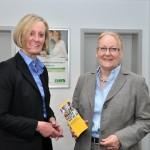 Spendenübergabe Niemann  April 2013